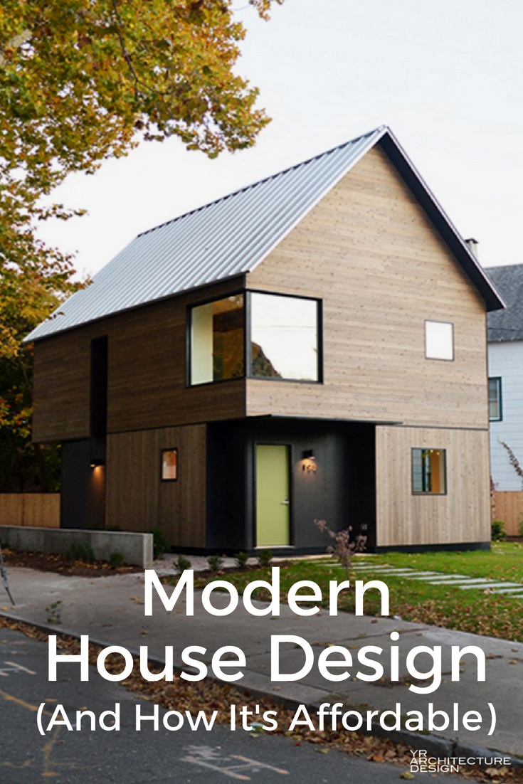Modern House Design Philippines One Storey: Modern House Design: How It Can Be Affordable