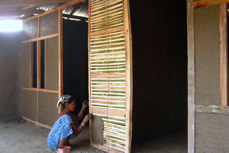 Building Low-Cost, Sustainable Bamboo Houses