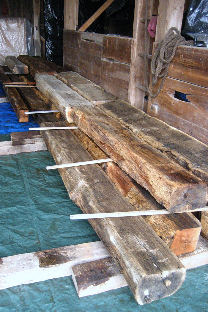 Reclaimed timber how to prepare reclaimed wood for reuse for How to treat barn wood for bugs