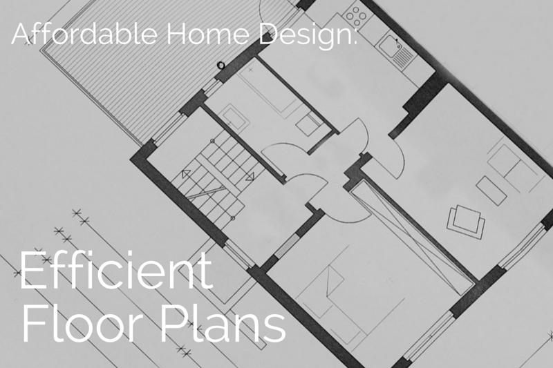 Affordable Home Design Efficient Floor